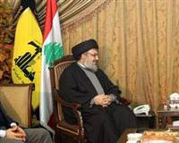 Davuto�lu meets with Hezbollah leader
