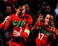 Ronaldo leads Portugal to Euro 2012 berth