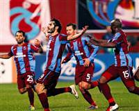 Trabzonspor secure a point and Inter through after 1-1 draw