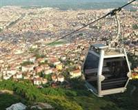 Crossing Istanbul's Bosphorus by cable car