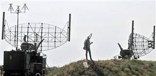 Russian radar on the Turkish border