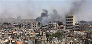 Syria stages massacre of 220 civilians
