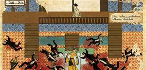 Hollywood films turned into Ottoman miniatures