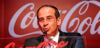 Coca Cola names a Turk for its top two spot