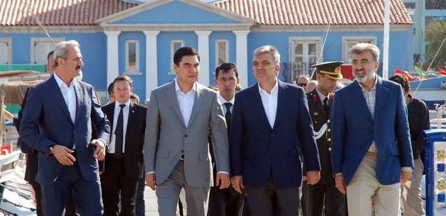 Turkmenistan President meets with Turkish investors