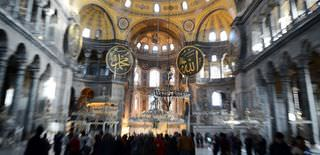 Hagia Sophia is Turkey�s top visited site