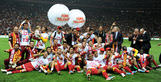 Galatasaray claim Turkish football league championship