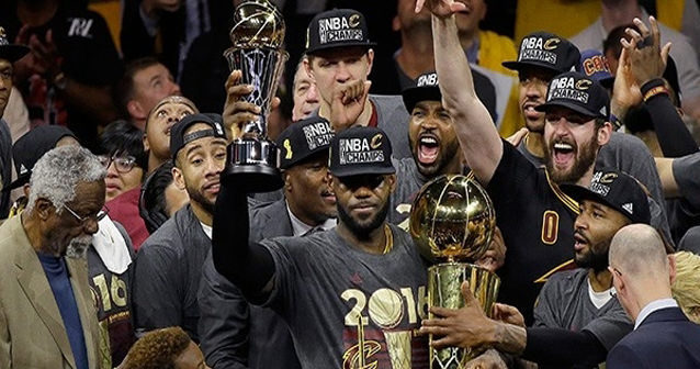 NBA şampiyonu Cleveland Cavaliers