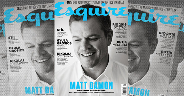 Matt Damon - Ağustos 2016