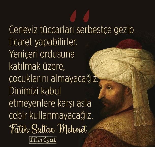 Fatih Sultan Mehmet'in 20 unutulmaz sözü - Galeri - Fikriyat Gazetesi