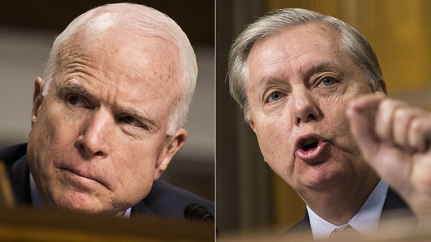 Cumhuriyetçi senatörlerden Esed karşıtı açıklama