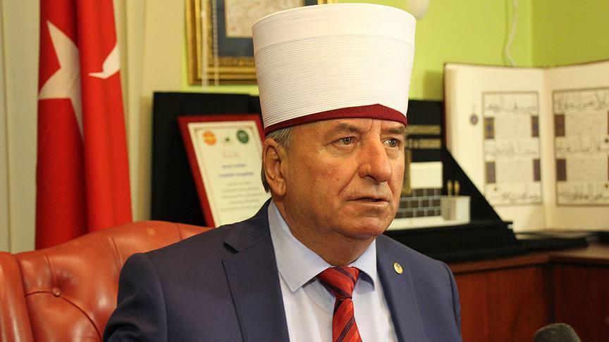 Makedonyalı Müslüman liderden Erdoğan'a destek