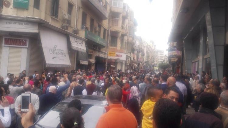 Mısır'da kanlı pazar!
