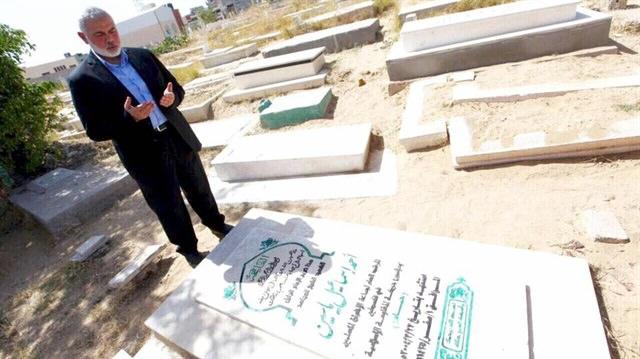 Hamas'ın yeni lideri Heniyye'den duygulandıran ziyaret