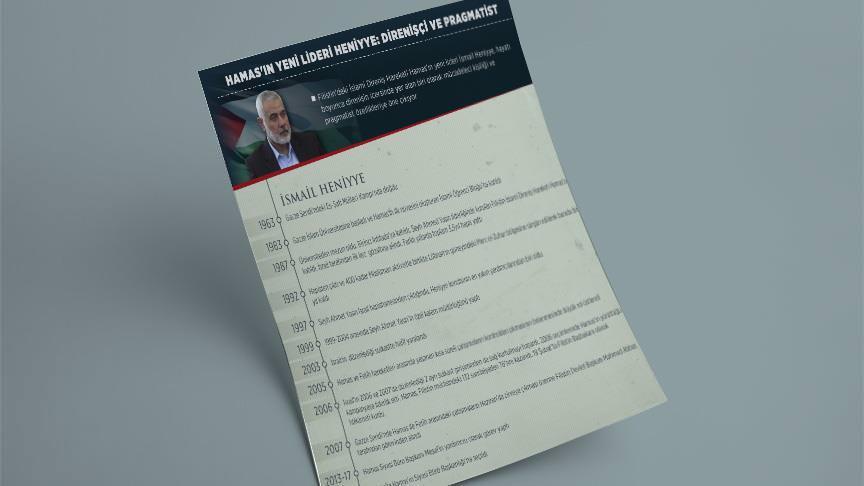 Hamas'ın yeni lideri Heniyye: Direnişçi ve pragmatist