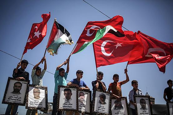 Filistin halkının kalbindeki sembol: Mavi Marmara