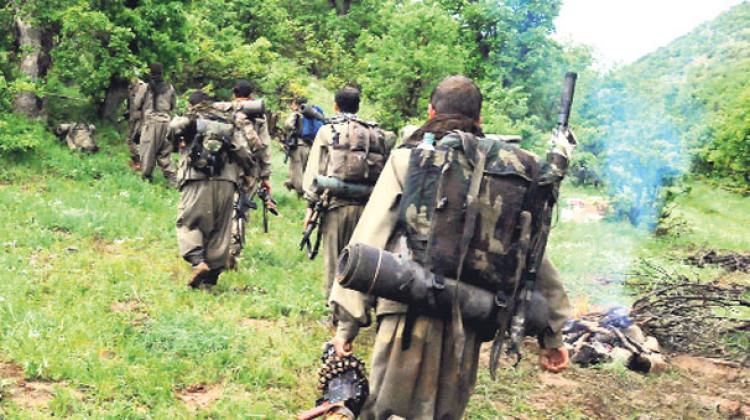 Batılı ülkelerin silahları PKK inlerinden çıkıyor