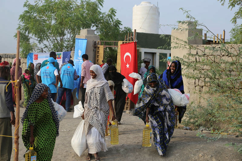 Türkiye'den Etiyopyalı Müslümanların yüzünü güldüren yardım