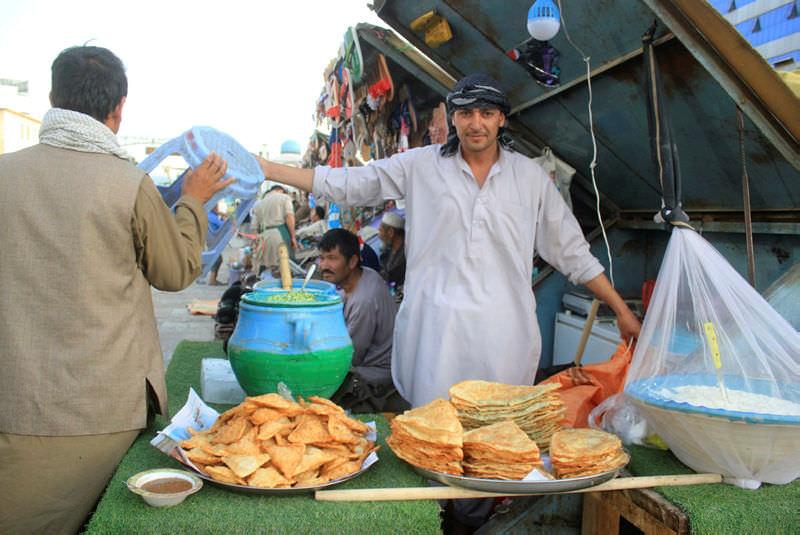 Afganistan'da iftar sofralarının vazgeçilmezi 'Bulani'