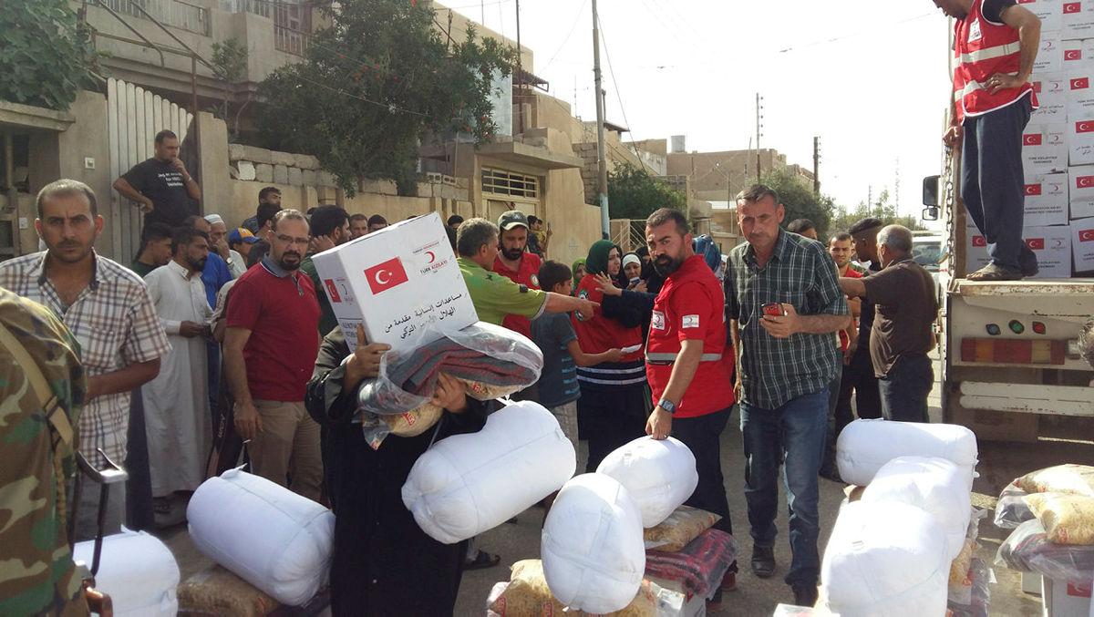 استخدام جوشکار در اربیل عراق 2017 ادامه کمک های هلال احمر ترکیه به مردم عراق