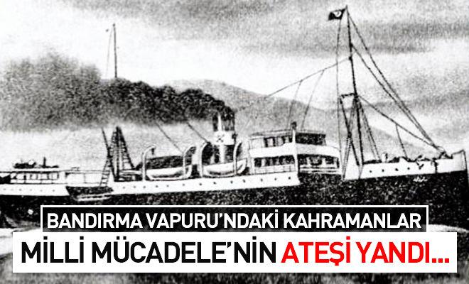 19 Mayıs Bandırma Vapuru Boyama