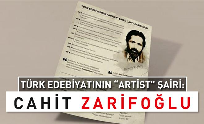 Türk edebiyatının Artist şairi: Cahit Zarifoğlu