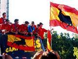 İspanyollar zafer sarhoşu