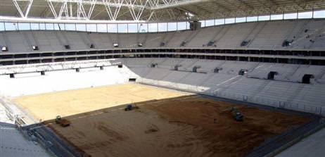 Telekom Arena'ya ziyaret