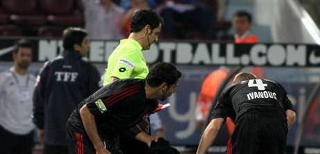 Anderlecht maçı Yıldırım'ın