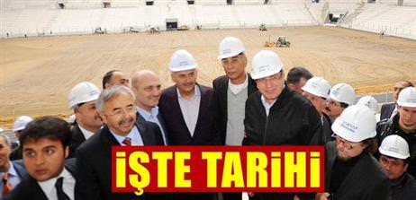 Türk Telekom Arena ne zaman açılıyor