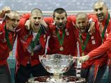Sırp tenisçilerden tarihi zafer
