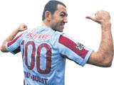 Umut 2 gole 100'ler Kulübü'nde