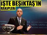 Beşiktaş, Dinamo Kiev'le eşleşti