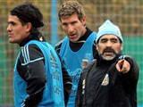 Maradona Ortega'ya sahip çıktı
