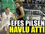 Efes çeyrek final şansını kaybetti