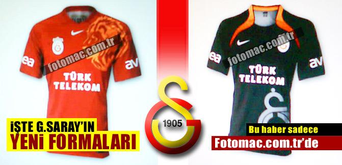 ��te Galatasaray'�n yeni formalar�