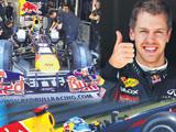 Vettel r�zgar�