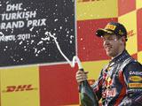 Vettel aldı götürdü