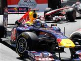 Monaco'da zafer Vettel'in