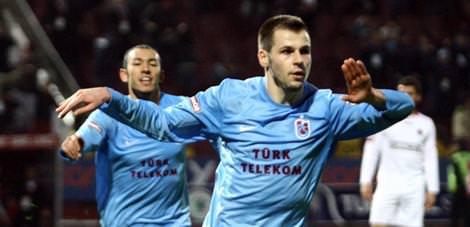 Trabzonspor'dan Gabric'e ziyaret
