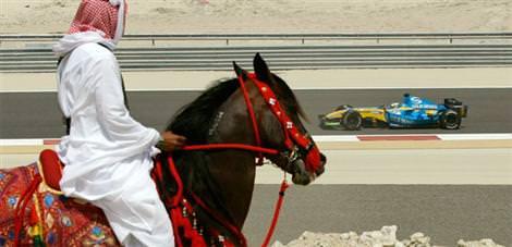 Bahreyn hazırlıkları askıya aldı