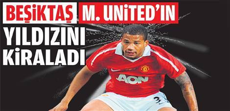 Be�ikta� M.United'�n y�ld�z�n� kiralad�