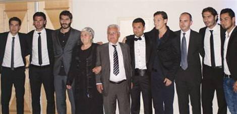 Real'in Türkleri Yıldıray'ın düğününde