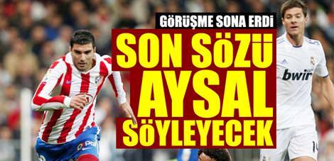 Galatasaray - A.Madrid görüşmesi sona erdi