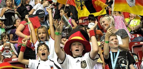 Bayanlar Dünya Kupası'na ilgi sevindirdi