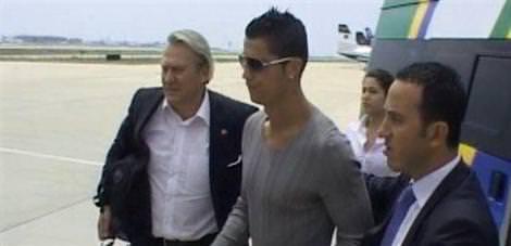 Ronaldo Bodrum'a gitti