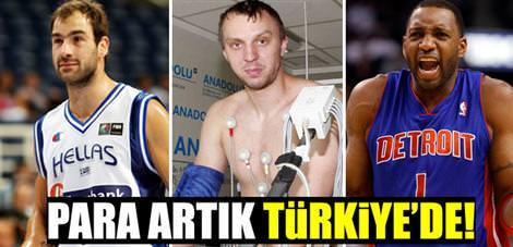 Para artık Türkiye'de!