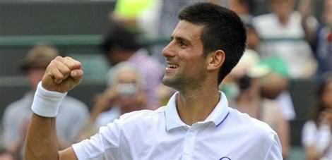 Djokovic finalde