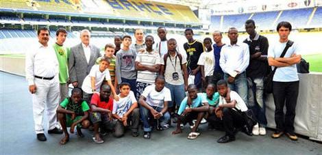 Senegalliler tesisleri gezdi