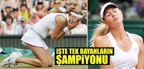 İşte Wimbledon'ın tek bayanlar şampiyonu
